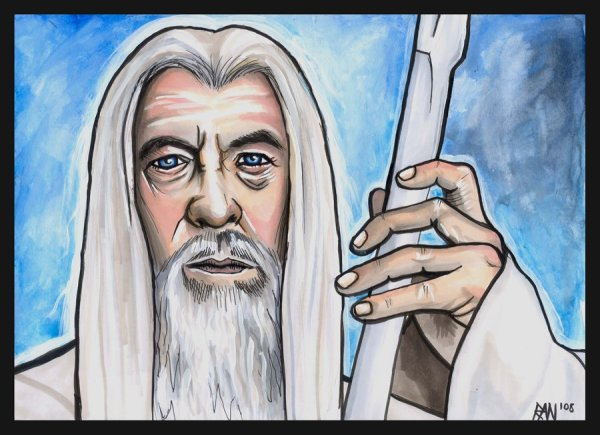 Gandalf_the_White_by_AbKi