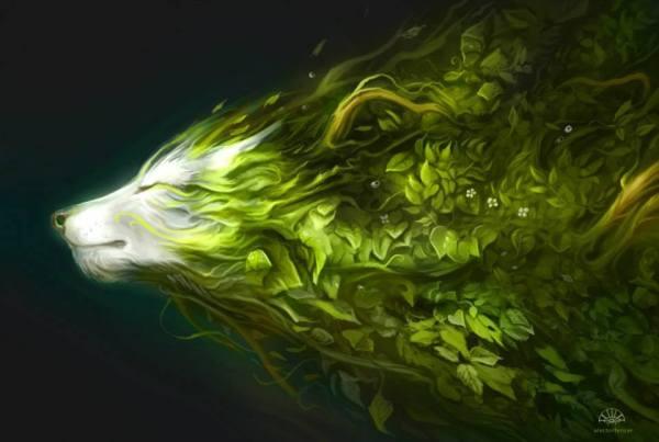 lup verde