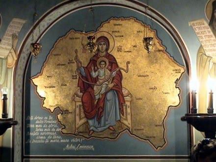 icoana-maicii-domnului-cu-iisus-hristos_si-romania-mare