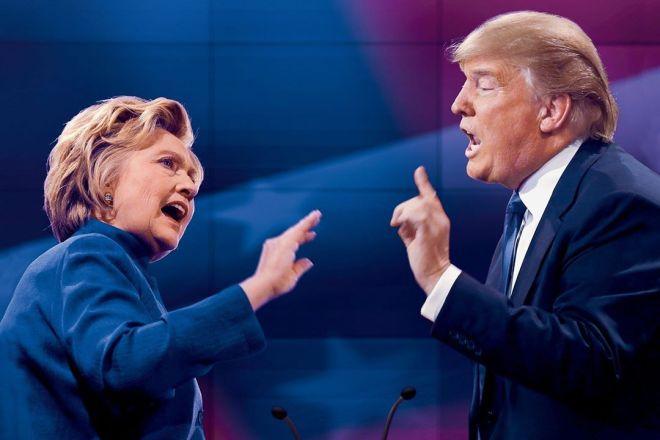 hilari vs trump